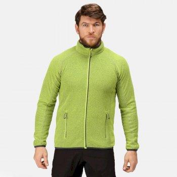 Men's Dreamste Full Zip Mini Honeycomb Fleece Lime Punch