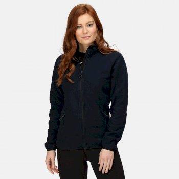 Women's Dreamste Full Zip Mini Honeycomb Fleece Navy