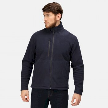 Men's Honestly Made Recycled Fleece Jacket Navy