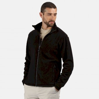 Men's Honestly Made Recycled Fleece Jacket Black