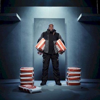 Men's Heist Hybrid Jacket Ash Marl Black