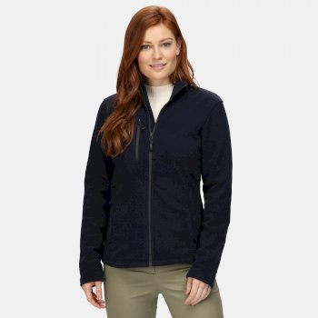 Women's Honestly Made Recycled Full Zip Fleece Navy