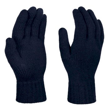 Men's Thermal Knitted Gloves Navy