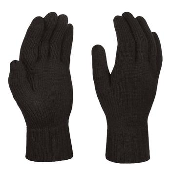 Men's Thermal Knitted Gloves Black