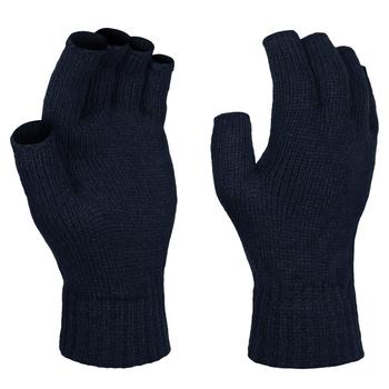 Men's Thermal Fingerless Gloves Navy