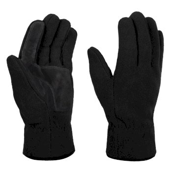Men's Fleece Gloves Black