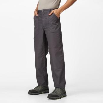 Men's Multi Pocket Action Trousers Dark Grey