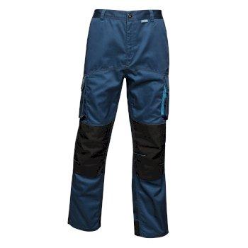 Heroic Worker Trousers Blue Wing