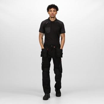 Men's Execute Holster Premium Work Trousers Black