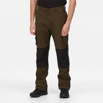Męskie spodnie Scandal khaki