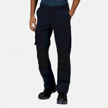 Men's Scandal Stretch Work Trousers Navy