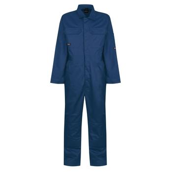 Men's Stud Fasten Coverall Royal Blue
