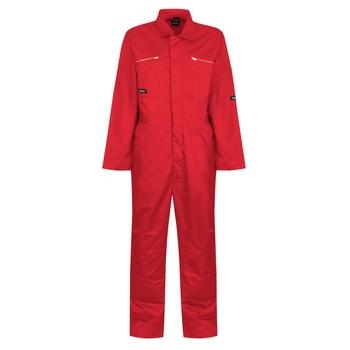 Men's Zip Fasten Coverall Classic Red
