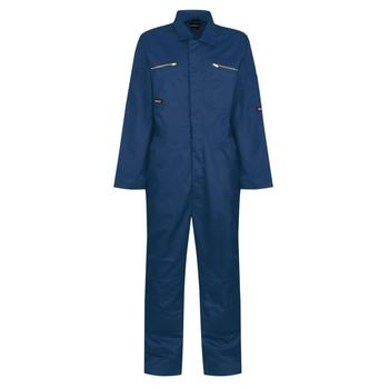 Men's Zip Fasten Coverall Royal Blue