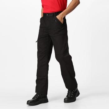 Men's Pro Multi Pocket Action Trousers Black