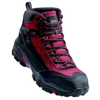 Men's Causeway Waterproof Safety Boots Red Black