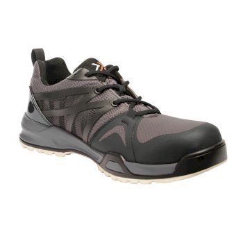 Men's Mortify Tactical Work Trainers Black Grey