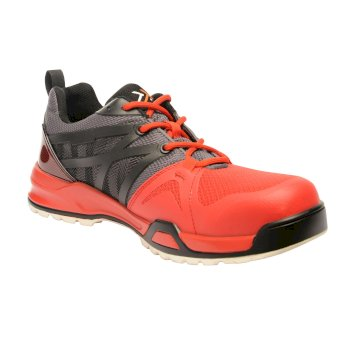 Men's Mortify Tactical Work Trainers Black Red