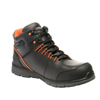 Men's Dismantle Tactical Work Boots Black