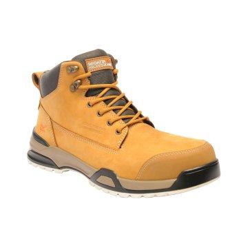 Men's Invective Tactical Work Boots Tan