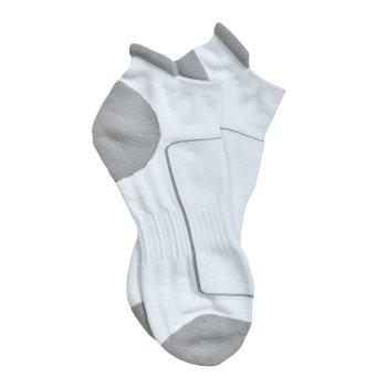 Adults Low Cut Sport Socks White Light Steel