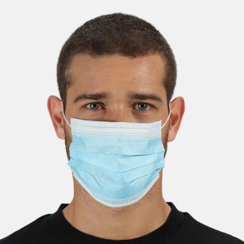 Disposable Medical EN14683 Type I Face Mask 10 Pack Blue