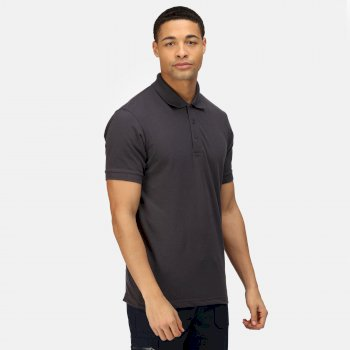 Men's Classic Polo Shirt Seal Grey