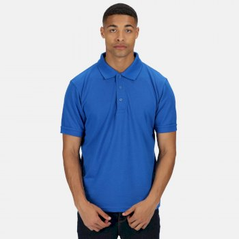 Men's Classic Polo Shirt Oxford Blue