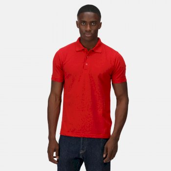 Men's Classic Polo Shirt Classic Red