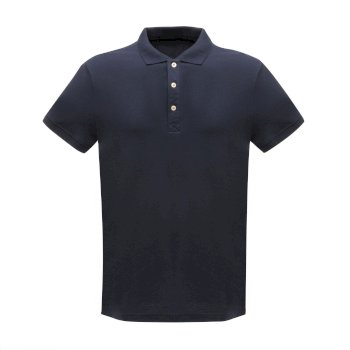 Cls Cotton Polo Navy