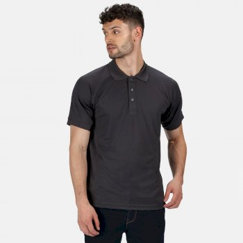 Men's Coolweave Wicking Polo Shirt Iron