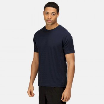 Men's Beijing Lightweight Cool and Dry T-Shirt Navy