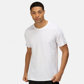Men's Beijing Lightweight Cool and Dry Sports T-Shirt White