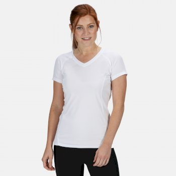 Women's Beijing Lightweight Cool and Dry T-Shirt White