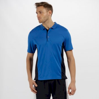 Men's Salt Lake Light and Dry Sports Polo Shirt Oxford Blue