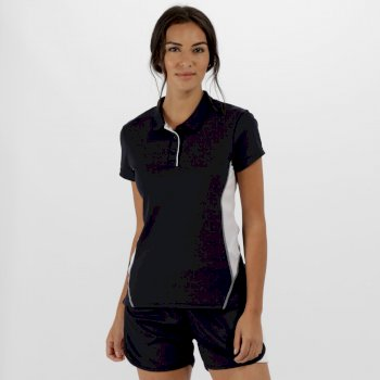 Women's Salt Lake Light and Dry Sports Polo Shirt Navy