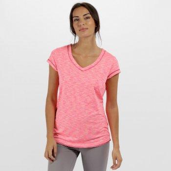 Women's Ashrama Quick Dry Sports T-Shirt Vivid Viola