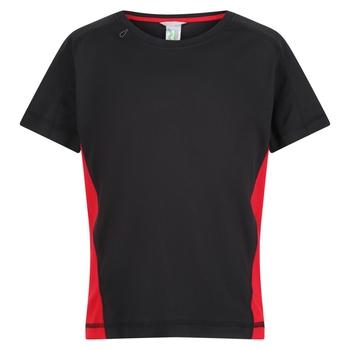 Kids' Beijing T-Shirt Black Classic Red