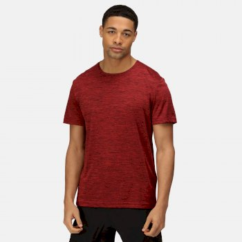 Men's Antwerp Marl T-Shirt Classic Red