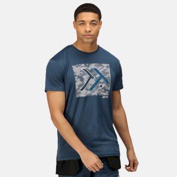 Men's Dread T-Shirt Blue Wing