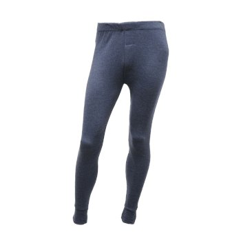 Men's Thermal Long Johns Denim Blue