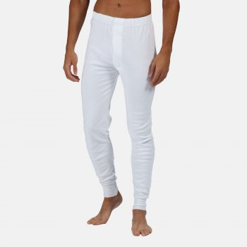 Men's Thermal Long Johns White