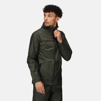 Men's Pro Packaway Breathable Waterproof Jacket Laurel