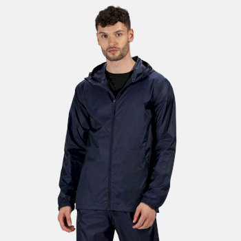 Men's Pro Packaway Breathable Waterproof Jacket Navy