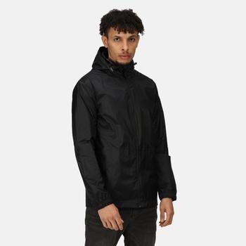 Men's Pro Packaway Breathable Waterproof Jacket Black