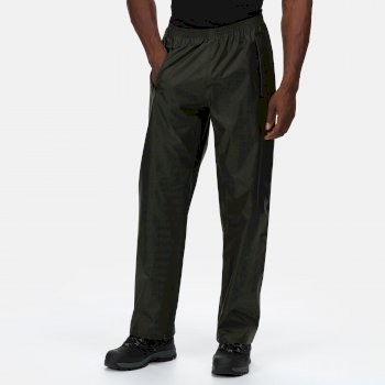 Men's Pro Stormbreak Waterproof Overtrousers Dark Olive