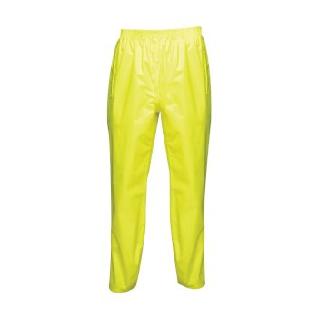 Men's Pro Pack Away Over Trousers Fluro Yellow