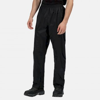 Men's Pro Pack Away Breathable Waterproof Overtrousers Black