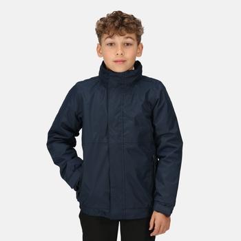 Kids' Dover Fleece Lined Waterproof Insulated Jacket Navy