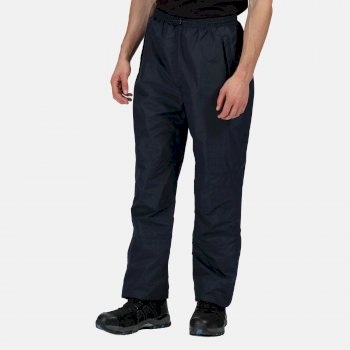 Men's Linton Waterproof Breathable Lined Overtrousers Navy